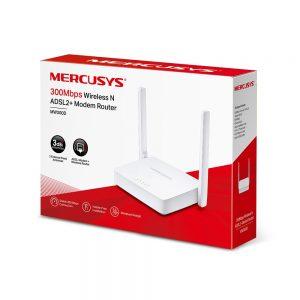 مودم روتر ADSL2 بی سیم میکروسیس مدل MW300D