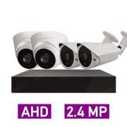 پکیج کامل 4 دوربین مداربسته 2 مگاپیکسل AHD